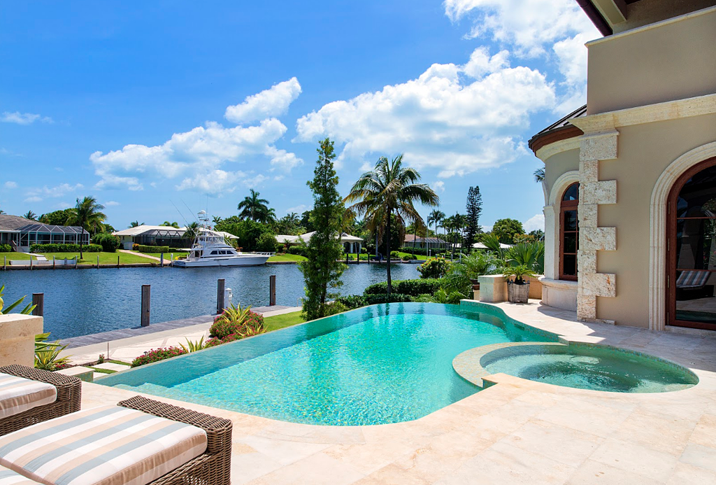 the cost of installing a pool in south florida what you need to consider. Black Bedroom Furniture Sets. Home Design Ideas