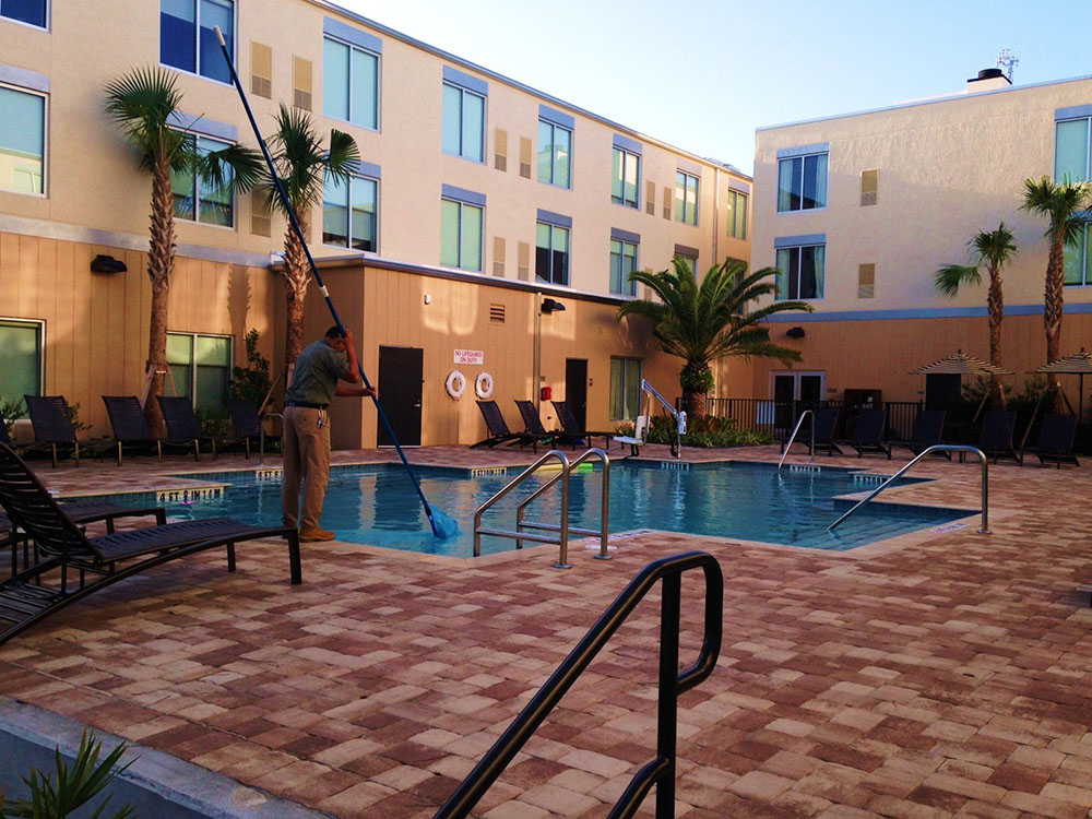Commercial Swimming Pool Maintenance Meeting Safety Health Code Requirements