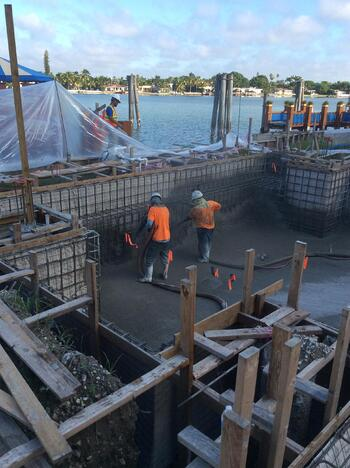 concrete mix for swimming pools