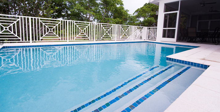 Not keeping your pool chemically balanced could stain or completely destroy your pool finish.